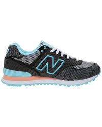 New Balance - Black Wl574 - Woven Collection - Lyst
