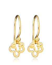 Dinny Hall - Metallic Small Gold Vermeil Talitha Earrings - Lyst