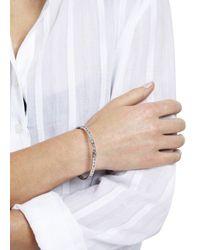 Marc By Marc Jacobs | Metallic Cut It Out Silver Tone Bracelet | Lyst