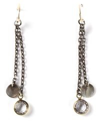 Dosa | Metallic Drop Earrings | Lyst