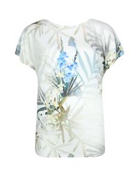 Ted Baker | Green Sazia Twilight Floral T-shirt | Lyst