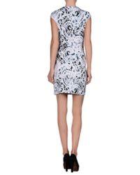 McQ - White Short Dress - Lyst