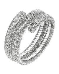 John Hardy | Metallic Classic Chain Silver Double Coil Bracelet | Lyst