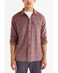 Patagonia - Purple Fjord Flannel Button-down Shirt for Men - Lyst