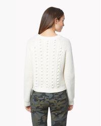 Veronica Beard | White Hamilton Popcorn Sweater | Lyst