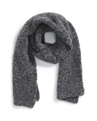 Paul Smith - Gray 'Teddy' Wool Blend Scarf for Men - Lyst