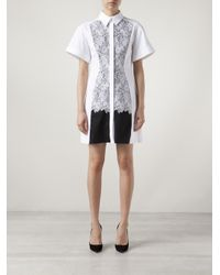 Peter Pilotto | White Cate Shirt Dress | Lyst