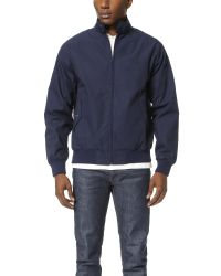 Fred Perry | Blue Harrington Jacket for Men | Lyst