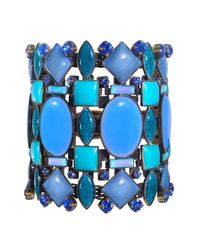 Miranda Konstantinidou Chez Carré Y. | Blue Mosaic Bracelet | Lyst