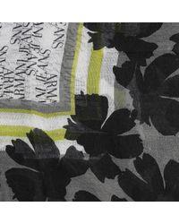 Armani Jeans | Black Scarf | Lyst