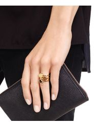 Tory Burch - Multicolor Livia Stacked Ring Set - Lyst