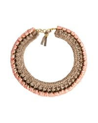 First People First - Pink Necklace - Lyst