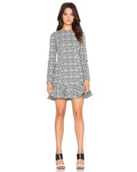 Lucca Couture - Black Fit And Flare Dress - Lyst