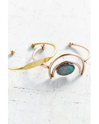 Urban Outfitters | Blue Nile Valley Bangle Set | Lyst