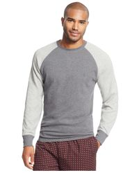 Polo Ralph Lauren | Gray Thermal Raglan Shirt for Men | Lyst