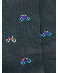 Paul Smith - Gray Bicycle Intarsia Socks for Men - Lyst