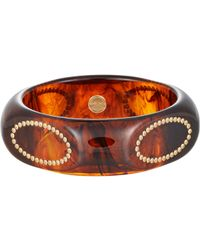 Mark Davis - Brown Ovidia Bangle - Lyst