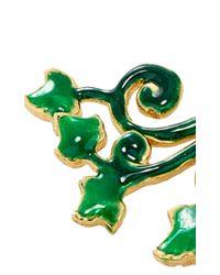 Alison Lou - Green Ivy Ear Jacket - Lyst
