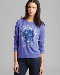 Junk Food | Blue Sweatshirt Grateful Dead Comfy | Lyst