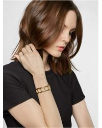 BaubleBar | Metallic Gold Ladder Cuff | Lyst