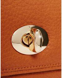 Yoki Fashion - Brown Fold Over Purse - Lyst