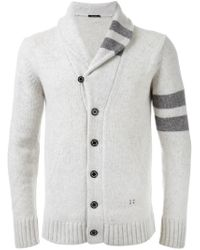 Guild Prime - Natural Shawl Neck Cardigan for Men - Lyst