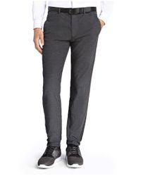BOSS Green | Gray Slim-fit Sweat Trousers In Stretch Cotton: 'lukes 7-w' for Men | Lyst