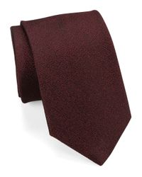 William Rast | Purple Silk Woven Tie for Men | Lyst