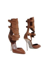 Sergio Rossi - Brown Pump - Lyst