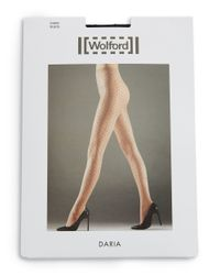 Wolford | Black Daria Tights | Lyst
