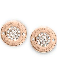 Michael Kors | Metallic Mkj3353791 Womens Earrings | Lyst