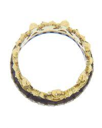 Armenta | Blue Half Crown Ring | Lyst