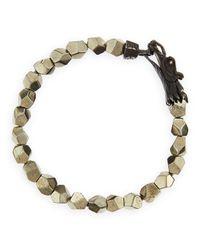 John Hardy Metallic Naga Men's Dragon-head Bracelet for men