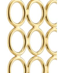 Smith/grey | Metallic Gold Circle Array Earrings | Lyst