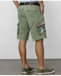 Denim & Supply Ralph Lauren - Green Cargo Shorts for Men - Lyst