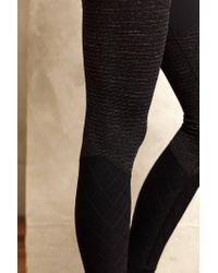 Beyond Yoga   Black Triptych Leggings   Lyst