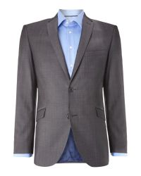 Paul Costelloe | Gray Slim Fit Grey Suit Jacket for Men | Lyst