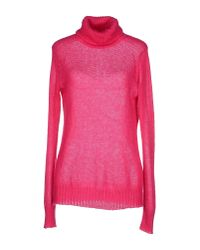 P.A.R.O.S.H. | Pink Turtleneck | Lyst