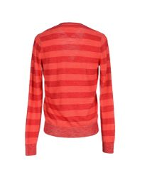 Hilfiger Denim - Red Cardigan for Men - Lyst