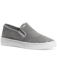 Michael Kors | White Michael Brett Slip-on Sneakers | Lyst