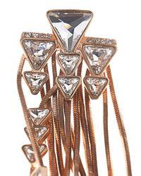Ca&Lou - Pink Multi-Fringe Earrings - Lyst