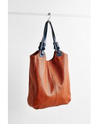 Kimchi Blue - Brown Knotted North/south Tote Bag - Lyst