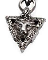 Roman Paul | Metallic Lion Pendant Necklace for Men | Lyst