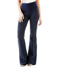 Guess | Blue Bella Flare-leg Jeans | Lyst