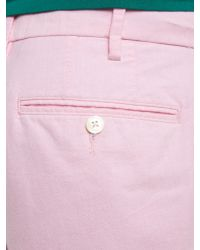 Polo Ralph Lauren - Pink Classic Hudson Straight Fit Chino Short for Men - Lyst