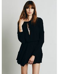 Free People - Black Love Me Like What Dress - Lyst