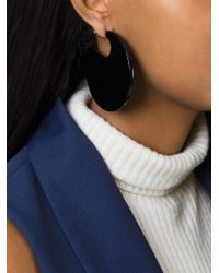 Marni | Black Round-shaped Earrings | Lyst