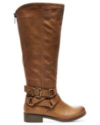 Madden Girl | Brown Corporel Boots | Lyst