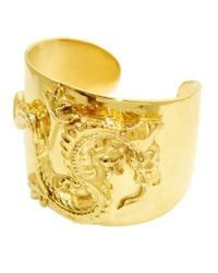 Tom Binns | Metallic Oriental Dragon Cuff | Lyst