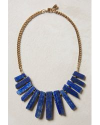 Anthropologie | Blue Meteora Necklace | Lyst